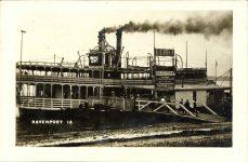 1910 ca. FERRY La Azora Bismark Cigars DAVENPORT, IOWA RPPC front