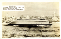 1935 ca. MV KALAKALA Ferry Seattle, WASH RPPC front