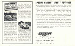 1952 CROSLEY New Models 10″×6.25″ Back page 4