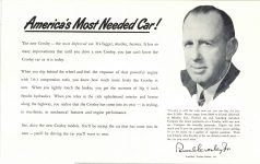 1952 CROSLEY New Models 10″×6.25″ page 2