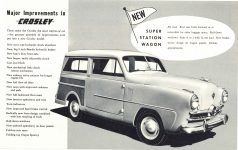 1952 CROSLEY New Models 10″×6.25″ page 4