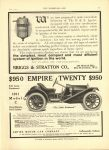 1910 6 1 $950 EMPIRE TWENTY $950 THE HORSELESS AGE 8.75″×12″ page 27