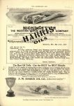 1910 6 1 HARRIS OILS Barney Oldfield THE HORSELESS AGE 8.75″×12″ page 6