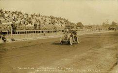 1908 11 25 RENAULT Car 10 Francois Szisz GRAND PRIZE AUTO RACES SAVAH, GA RPPC front