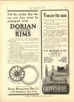 1910 6 22 DORIAN REMOUNTABLE RIMS THE HORSELESS AGE 8.5″×12″ page 18