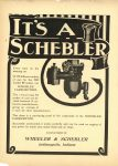 1910 6 22 IT'S A SCHEBLER Carburetor THE HORSELESS AGE 8.5″×12″