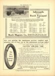 1910 6 22 NATIONAL Indy 500 Bosch Equipped CARS THE HORSELESS AGE 8.5″×12″ page 21