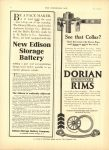 1910 7 20 DORIAN REMOUNTABLE RIMS THE HORSELESS AGE 8.5″×12″ page 24