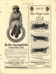 1911 7 26 NEW PARRY CARS FOR 1912 THE HORSELESS AGE 8.5″×12″ page 49