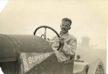 1916 HUDSON AH Patterson Hudson Super Six Special Pikes Peak Hill Climb Aug 11 12 8.5″×6″ photo front