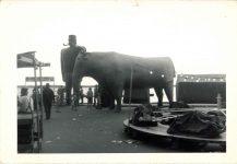 1930s ca. Paul Bunyon and Babe Bemidji, MINN snapshot front