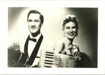1948 50 Fern Dale friends 2.5″×3.5″ GEM PHOTOS front