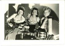 1948 50 The Notables Fern Dale Trio 2.5″×3.5″ GEM PHOTOS front 1