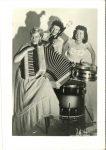 1948 50 The Notables Fern Dale Trio 2.5″×3.5″ GEM PHOTOS front 3