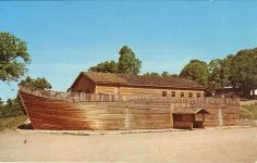 Noah's Ark Steakhouse at Diamond Point Sauk Center, MINN postcard front