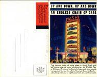 1934 Nash La FAYETTE Fine Car double 5.5″×7″ postcard outside