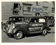 1934 ca. HUDSON TERRAPLANE The NORTHWEST RANGER 10″×8″ photo front