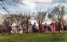 1910 St. Peter, MINN STATE HOSPITAL FOR THE INSANE postcard front