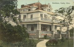 1910 ca. Canby, MINN Residence postcard front