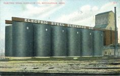 1910 ca. Minneapolis, MINN ELECTRIC STEEL ELEVATOR CO. 5117 postcard front