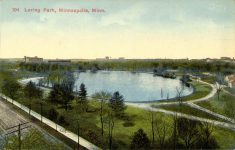 1910 ca. Minneapolis, MINN Loring Park 104 postcard front