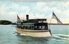 1915 ca. Lake Minnetonka, MINN STEAMER COMO 5142 postcard front