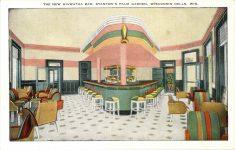 1950 ca. NEW HIAWATHA BAR Wisconsin Dells, WIS postcard front