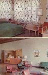 1960 ca. Crookston, MINN THE WAYNE HOTEL postcard front