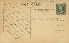 1910 ca CATS A VERY MERRY CHRISTMAS RPPC back