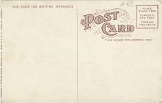 1910 ca. S D Red Field State Hospital for the Febble Minded postcard back