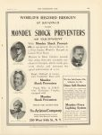 1911 12 6 MONDEX SHOCK PREVENTERS Bruce Brown Mulford Witt Hearne THE HORSELESS AGE 9″×12″ page 20A