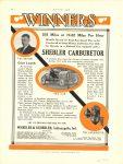 1912 ca. NATIONAL SCHEBLER CARBURETOR WINNERS NATIONAL Harvey Herrick pic of carb MOTOR AGE 9″×12″ page 50