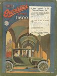 1915 3 11 1915 Overland THE AUTOMOBILE 9″×12″ Back cover
