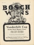 1915 3 11 BOSCH WINS Vanderbilt Cup THE AUTOMOBILE 9″×12″ page 71