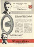 1915 3 11 NASSAU TIRES Bob Burman & Ralph Mulford THE AUTOMOBILE 9″×12″ page 82
