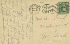 1921 4 26 WIS, Kenosha The Nash Motors Company 347 factory postcard back