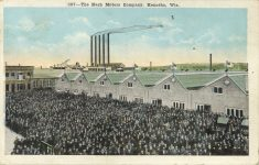 1921 4 26 WIS, Kenosha The Nash Motors Company 347 factory postcard front