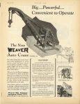 1925 6 25 WEAVER New WEAVER Auto Crane MOTOR AGE 8.75″×11.5″ page 1