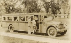 1928 7 9 MINN, Minneapolis THE TWIN CITY MOTOR BUS CO. RPPC front