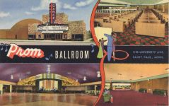 1950 ca. MINN, St. Paul PROM BALLROOM postcard front