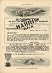 1910 6 1 HARRIS OILS Barney Oldfield THE HORSELESS AGE 9″×12″ page 6