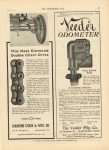 1910 6 1 IND DIAMOND CHAIN MFG. & CO. This Neat Diamond Double Chain Drive THE HORSELESS AGE 9″×12″ page 39