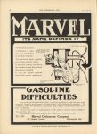 1910 6 1 IND MARVEL Carburetor GASOLOINE DIFFICULTIES THE HORSELESS AGE 9″×12″ page 18