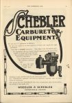 1910 6 1 IND SCHEBLER CARBURETOR EQUIPMENT THE HORSELESS AGE 9″×12″ page 5
