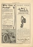 1910 6 15 IND Prest-O-Lite Why Use a Pump THE HORSELESS AGE 9″×12″ page 41