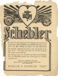 1910 6 15 IND SCHEBLER Schebler Carburetors THE HORSELESS AGE 9″×12″ page 1