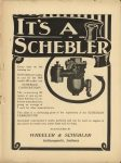 1910 6 22 IND SCHEBLER IT'S A SCHEBLER THE HORSELESS AGE 9″×12″ page 1