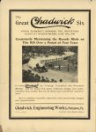 1910 7 13 Chadwick Six THE HORSELESS AGE 9″×12″ Inside front cover