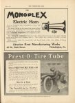 1910 7 13 IND Prest-O-Tire Tube THE HORSELESS AGE 9″×12″ page 31