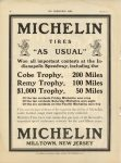 1910 7 6 MICHELIN Cobe Trophy, Remy Trophy, 1000 Trophy THE HORSELESS AGE 9″×12″ page 20
